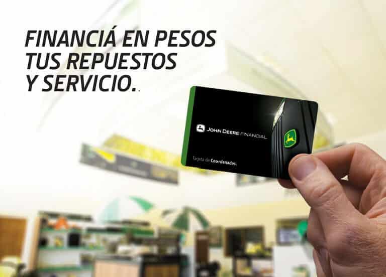 Financiá en pesos a 180 días tus repuestos y servicio